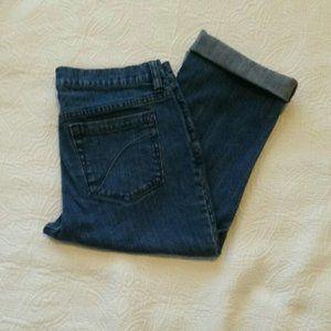 Liz Claiborne Axcess Crop Jeans